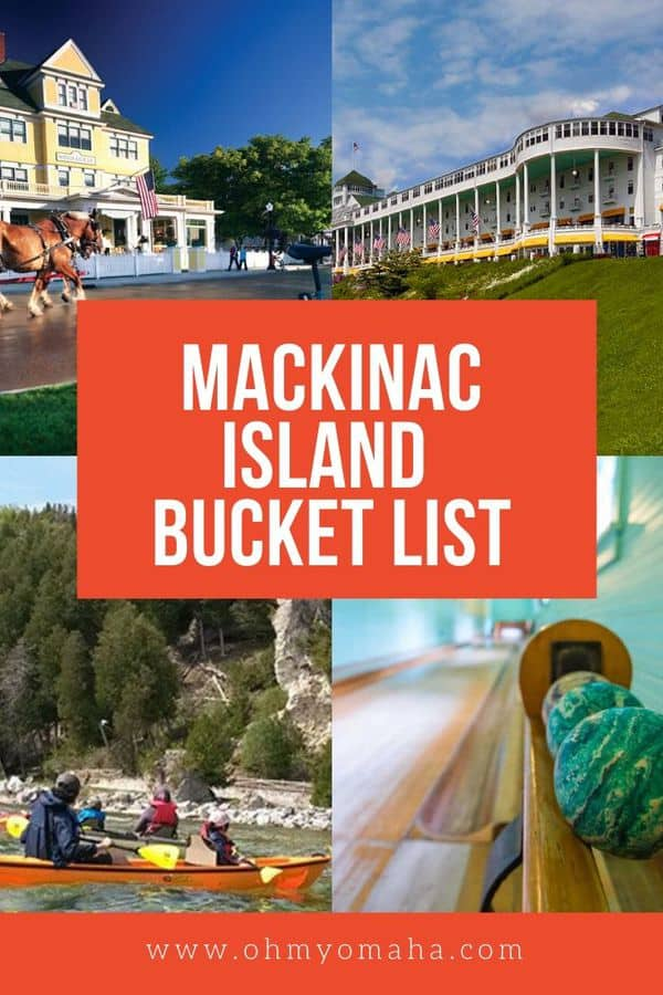 Whether you spend a day or a weekend on Michigan's Mackinac Island, you'll never be bored. Here's a bucket list of amazing things to do, things to see, and yummy food to try on this unique island. Why is it unique? It's one of the only car-free islands in the U.S.