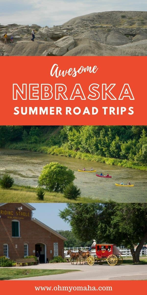 Nebraska is full of outdoor adventure and history! Want inspiration for future summer road trips through Nebraska? Here's a round-up of  some of the state's popular attraction, as well as a few historic and scenic hidden gems.