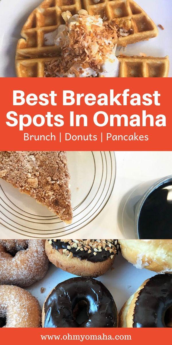 Omaha loves breakfast and brunch! Here are the best Omaha breakfast restaurants | Where to eat in Omaha | Best restaurants in Omaha | Best Omaha breakfast restaurants #Nebraska #uide
