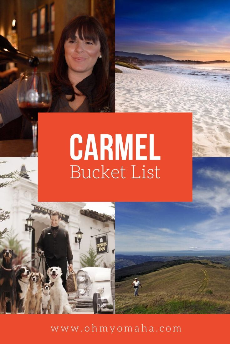 Plan the best trip to Carmel-by-the Sea with this bucket list! Carmel is one of those must-see charming towns of California. Find things to do in Carmel, restaurants to visit, scenic hikes and more must-see highlights. #California #USA #BucketList