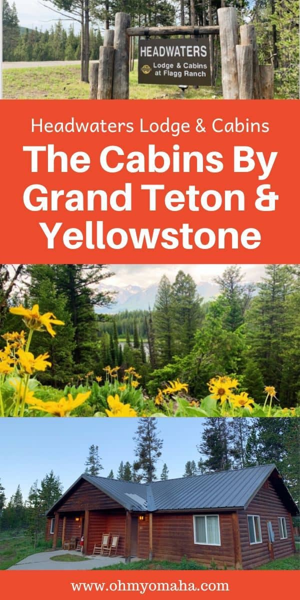 Want to stay near two National Parks? We stayed at the Headwaters cabin inside Grand Teton National Park, which is just 2 miles away from Yellowstone National Park! Is this cabin right for your family? Read on for more details on booking a cabin at Grand Teton!
