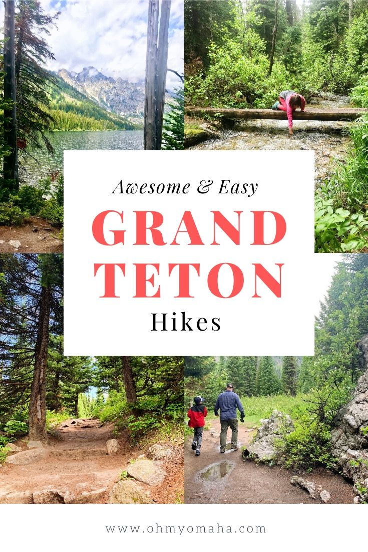 Looking for an easy trails at Grand Teton National Park, one that's either accessible or easy enough for kids? Read this post about awesome and easy hikes at Grand Teton! #NationalParks #USA #Wyoming