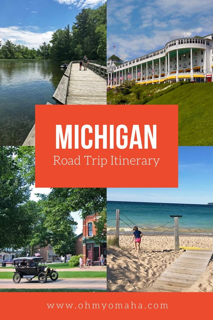 Michigan Road Trip Itinerary (Lower Peninsula) - Tips on where to stop, where to eat, and what to do during an epic Michigan road trip. This is an outdoorsy family's kind of trip!