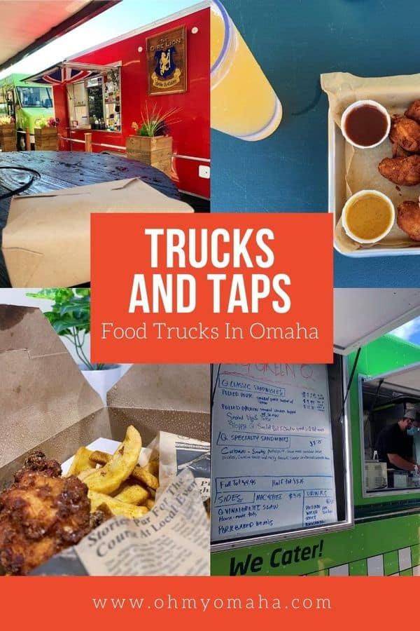 Omaha has a fascination with food trucks and one of the newest players on the scene is Trucks and Taps, featuring food trucks, a full bar, and a patio. Get the details on the food, drinks and what to expect if you go!