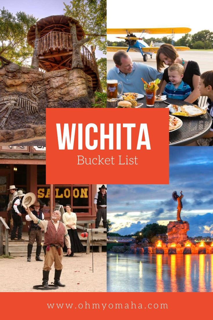 Wichita, Kansas is a hidden gem in the Midwest! Here's my bucket list of things to do in Wichita, including museums and cultural attractions to visit, not-to-miss restaurants, and unforgettable animal encounters. #Wichita #Kansas #Midwest #FamilyTravel #BucketList