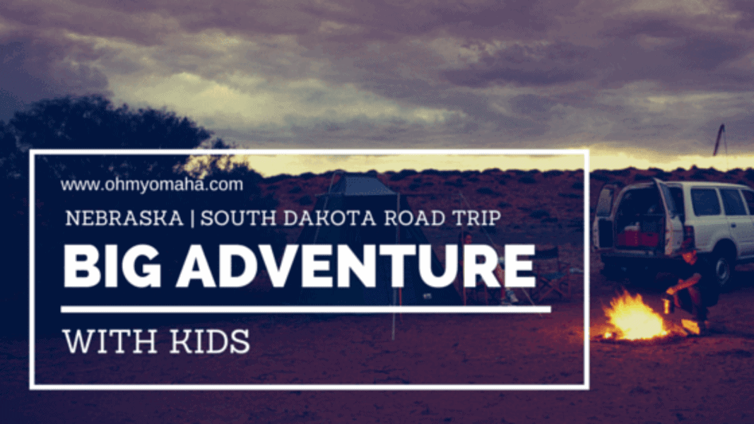 Button for a South Dakota and Western Nebraska road trip itinerary.