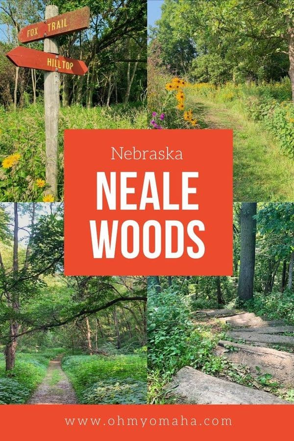 Neale Woods is a hidden gem in Omaha, Nebraska! If you're looking for an easy hike or quick getaway from the city, plan a day trip to Neale Woods.