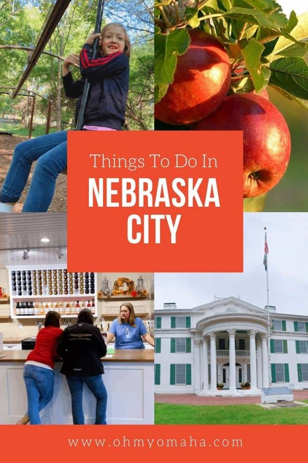Fall is a great time to visit Nebraska City! Here are 10+ fun things to do while you're there, from wine tasting and apple picking, to playing in an epic treehouse.