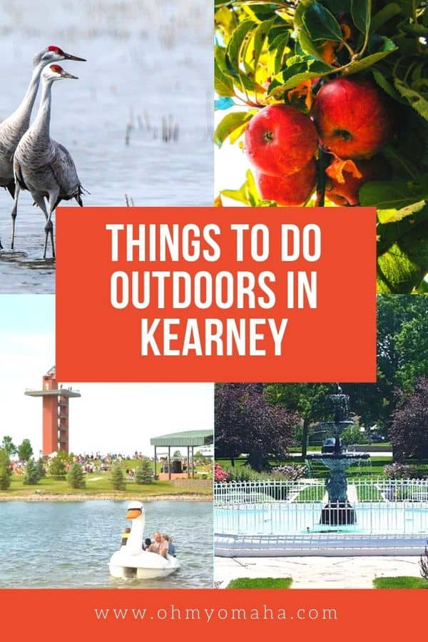Headed to Kearney, Nebraska and looking for things to do? Here's a great list of fun outdoor activities and places to visit!