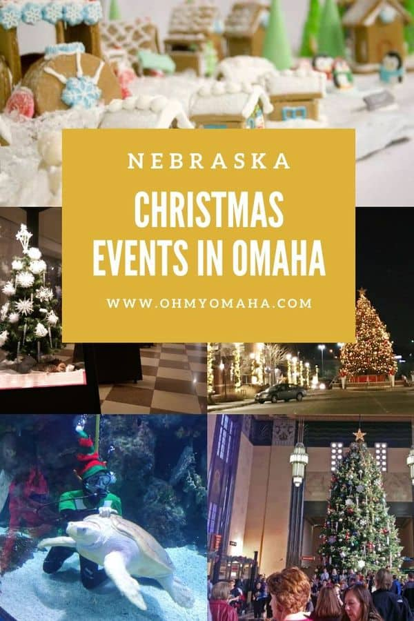 Looking for the most complete list of Christmas events in Omaha, Nebraska? Here's a roundup of displays, shows, charity drives and more, including New Year's Eve festivities. List has been updated for 2020 changes.