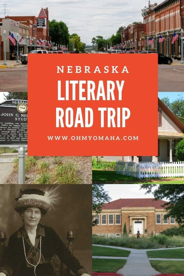 This is a great way to explore Nebraska - road trip to destinations related to famous Nebraska authors and Nebraska poets! This is the ultimate list of places to visit in Nebraska if you consider yourself a bookworm.