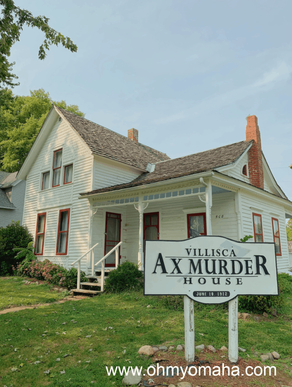 Exterior of the Villisca Ax Murder House in Iowa.