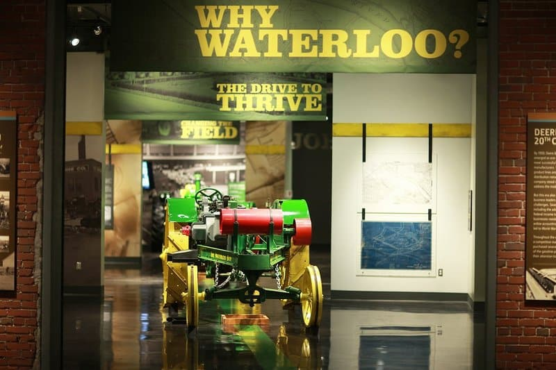 John Deere Tractor and Engine Museum in Waterloo