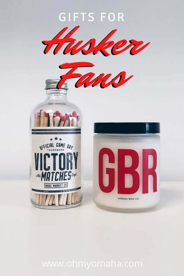 Gift guide for the best presents for Husker fans. Find Husker gifts made by Nebraska artisans as well as locally-owned Omaha shops selling Nebraska Cornhusker apparel and accessories.