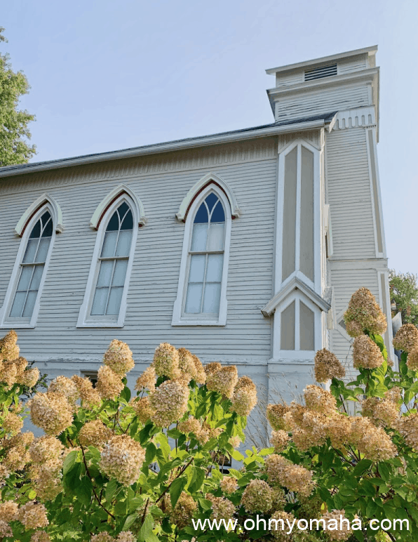 You can stay overnight in a 145-year-old Presbyterian Church in Malvern, Iowa.