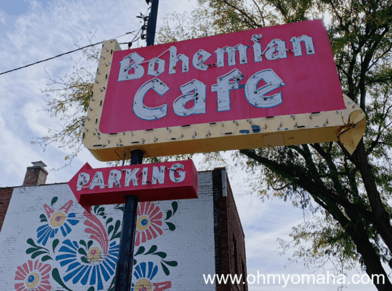 The sign for Bohemian Cafe remains standing in Little Bohemia, even though the restaurant closed in 2016.