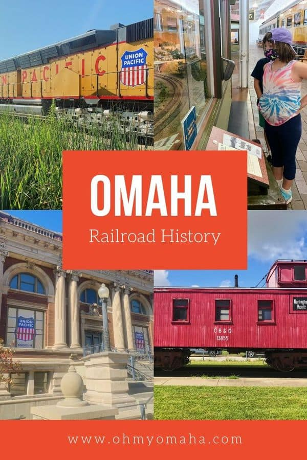 8 great places to learn more about Omaha railroad history, including train museums, outdoor rail yards and nearby history homes connected to railroads like Union Pacific.