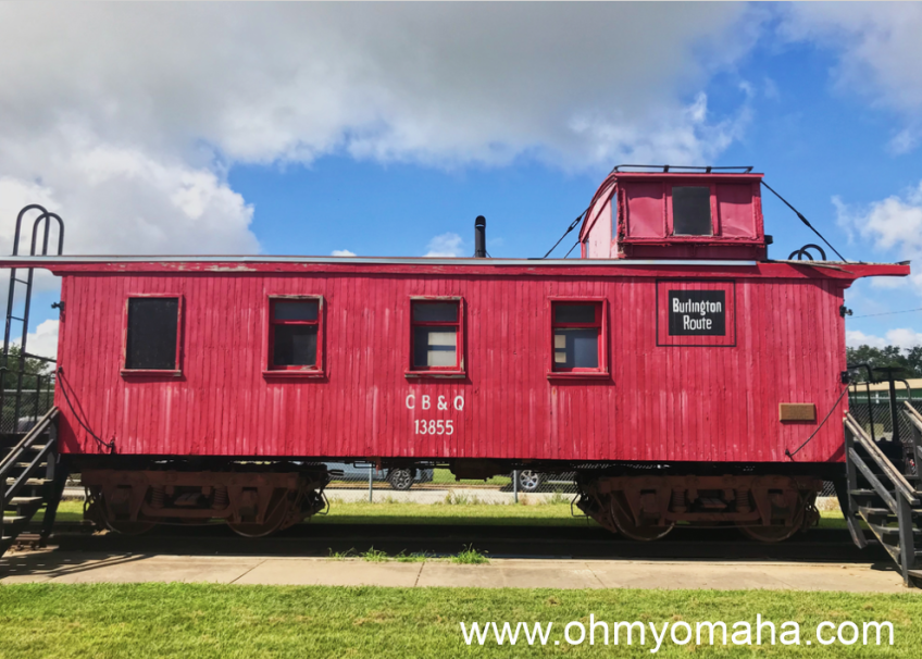 Train car at RailsWest Railroad Museum
