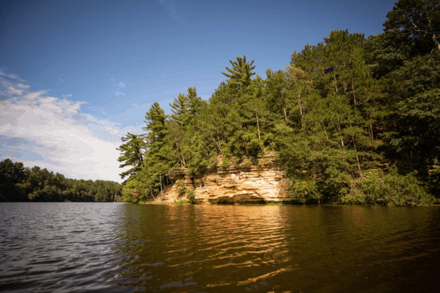 Devil's Lake State Park in Baraboo, Wisconsin