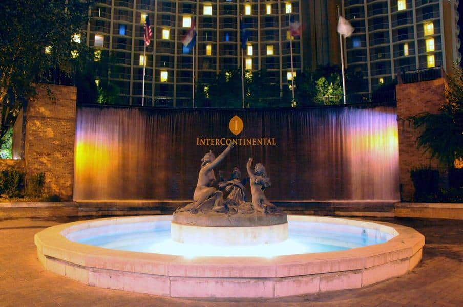 Intercontinental Kansas City hotel near the Plaza in Missouri