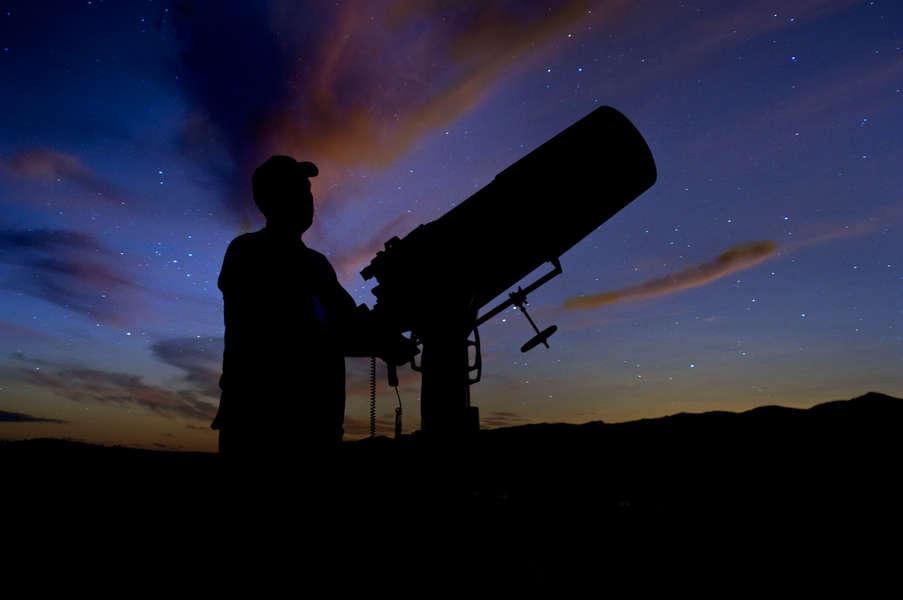 The night sky at the Nebraska Star Party at Merritt Reservoir SRA