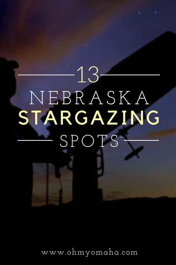 Seeking dark skies in Nebraska? Here are more than a dozen prime spots for stargazing in Nebraska, from Sandhills vistas to city observatories. Plus, get details on the annual Nebraska Star Party.