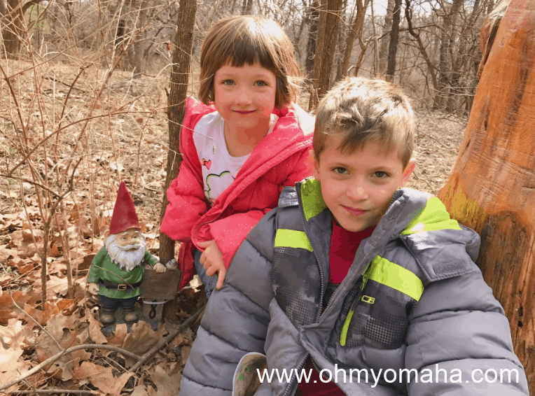 Bundle up and go on a hike at the Tree Adventure at Arbor Day Farm in Nebraska City.