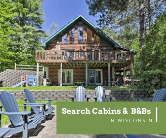 Wisconsin cabin ad