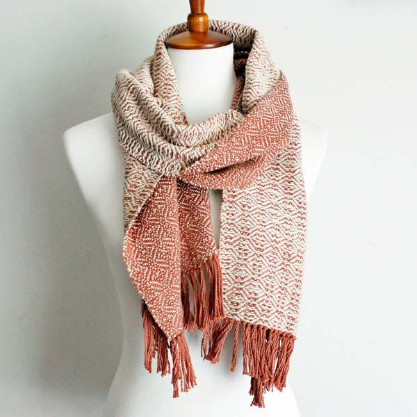 Handmade scarf made by East Parlor