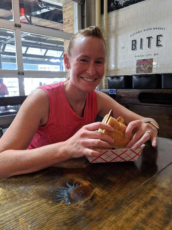 Jenn at The Bite in Kansas City