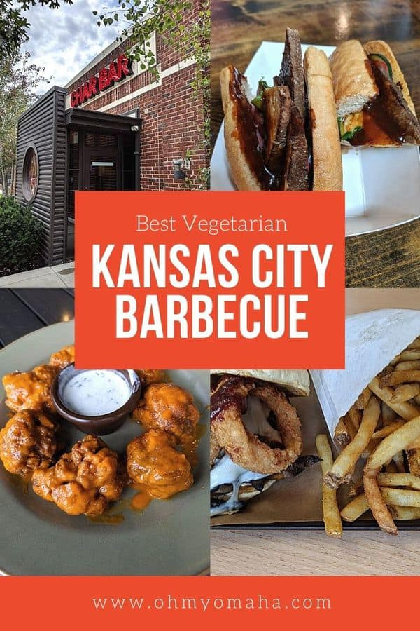 Kansas City is famous for its BBQ. Even if you don't eat meat, there's plenty of really good vegetarian barbecue options!