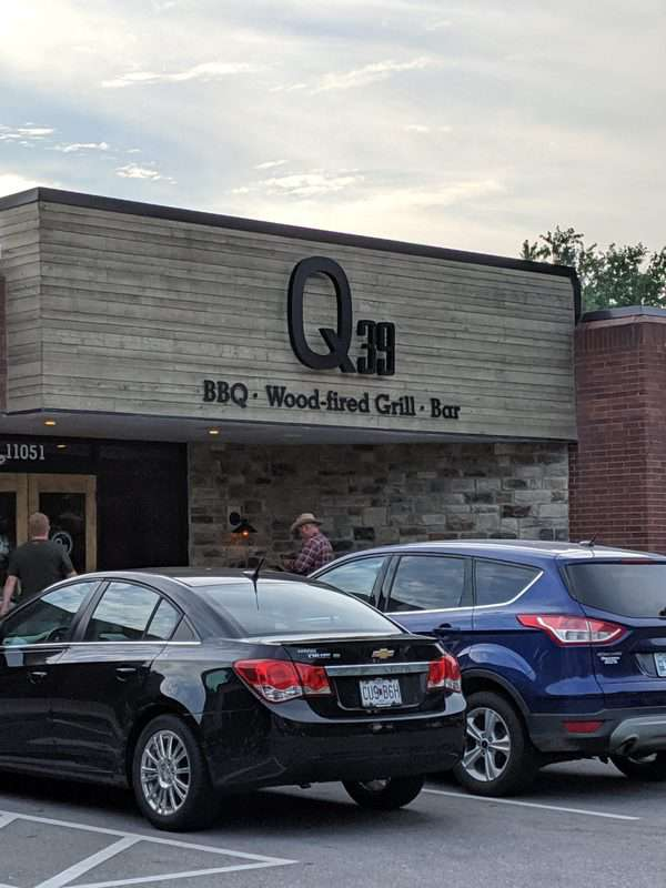 Exterior of Q39, the south location in Overland Park