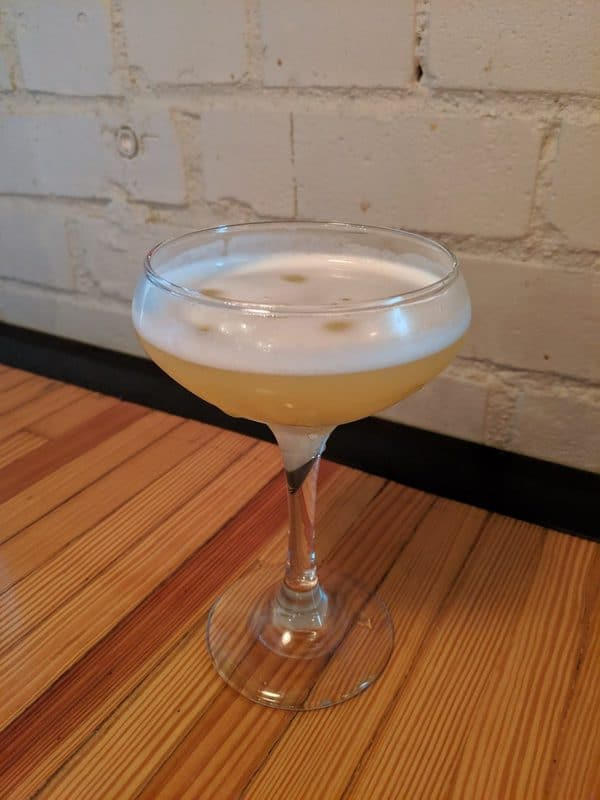 A cocktail at Char Bar, a barbecue restaurant in Kansas City