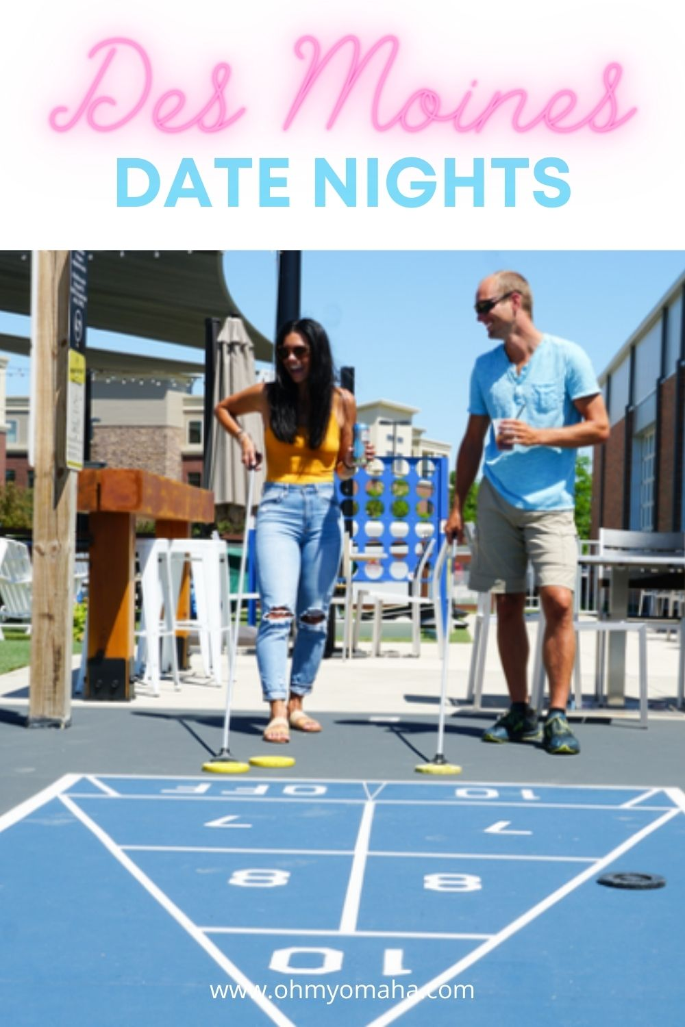 Looking for a unique date in Des Moines or something totally fun like a date at Smash Park? Here are some recommended stops for future date nights or romantic getaways to DSM.