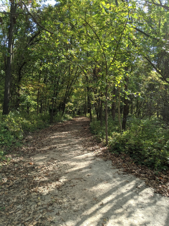 The Rock Island Trail in Missouri