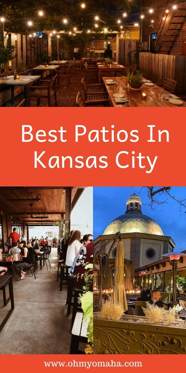 A roundup of 16 awesome patios in the Kansas City area, including restaurant patios, bar patios, and fun patios for games and entertainment.