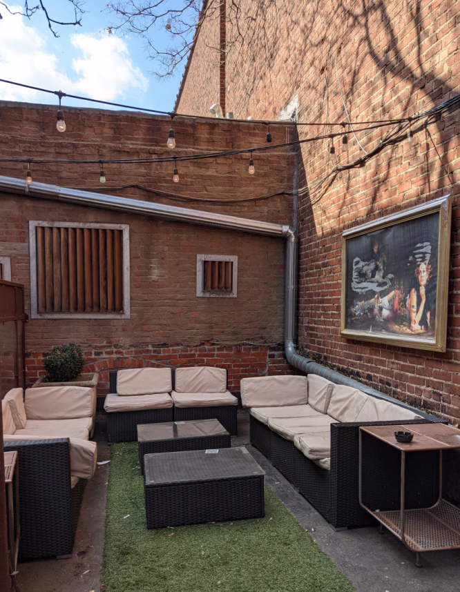 The back patio at SoT in Kansas City