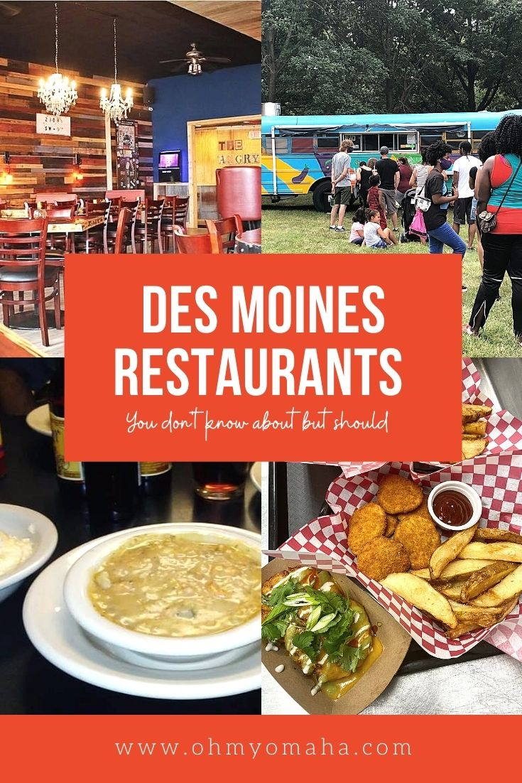 10 Des Moines restaurants that are hidden gems you should know about. From a supper club to a vegan food bus, there's something for everyone on this list.