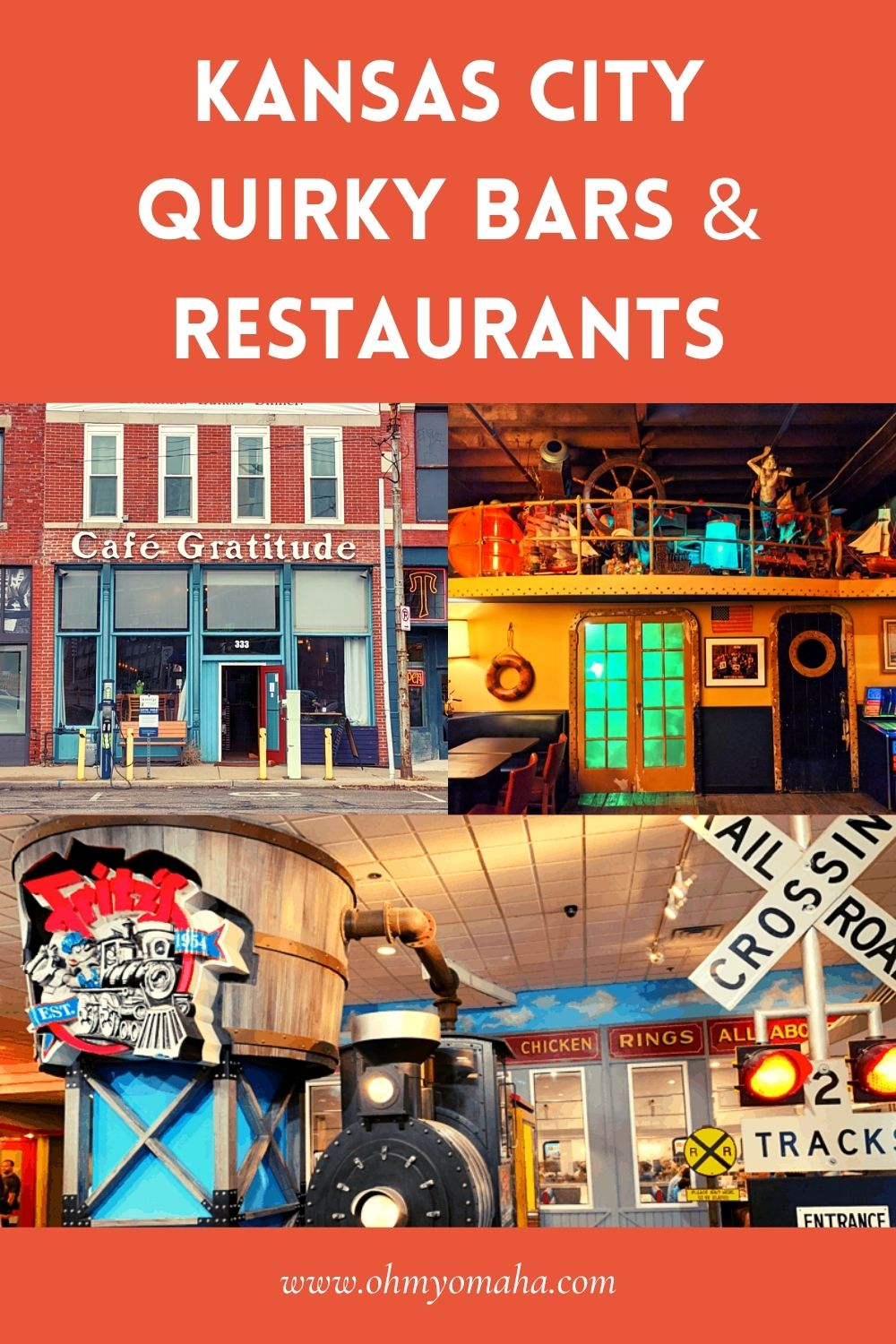 11 quirky bars and truly unique restaurants in Kansas City, Missouri!