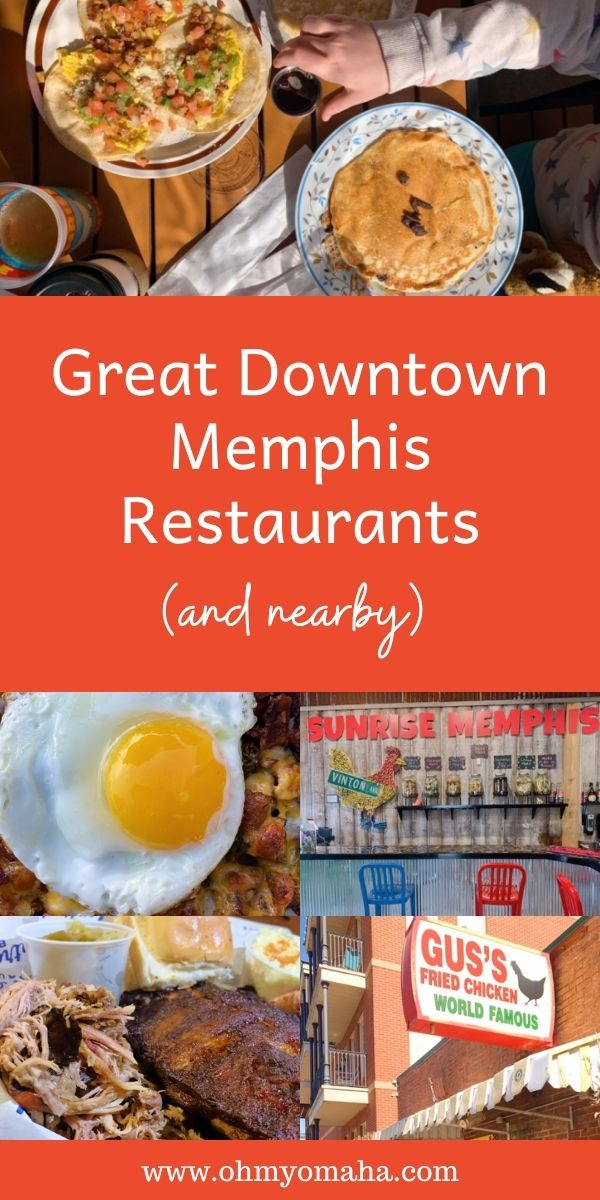 Restaurant recommendations for families visiting Memphis, especially with tips on where to eat in Downtown Memphis, and which eateries are near attractions like the zoo.