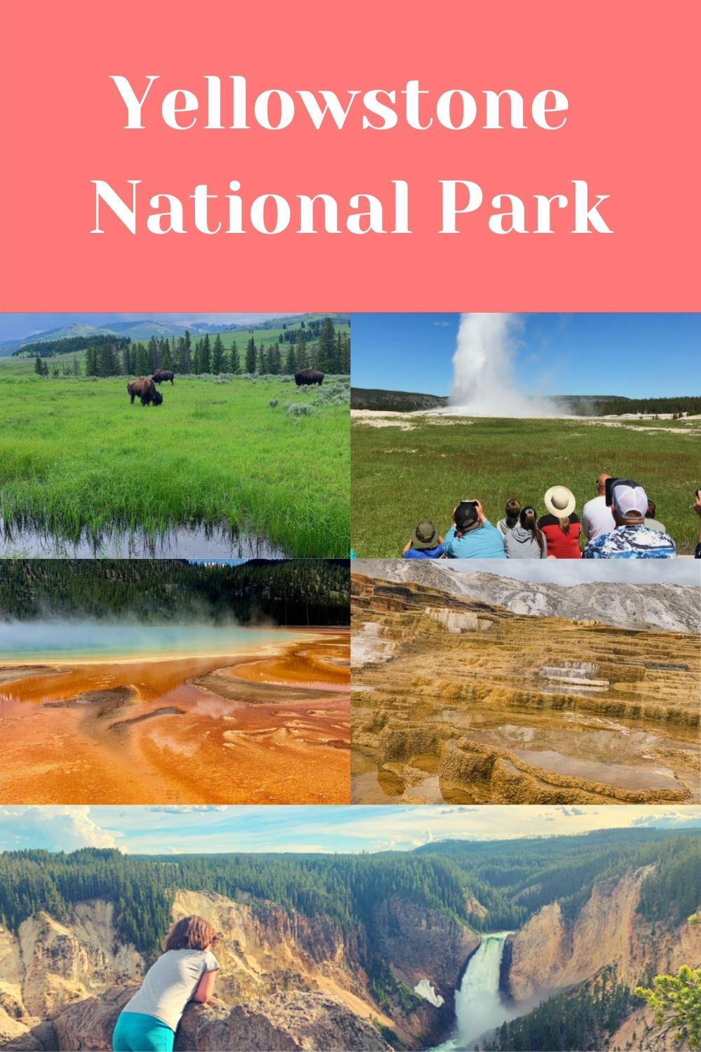 Highlights of Yellowstone National Park and how to fit them into three days (or less).