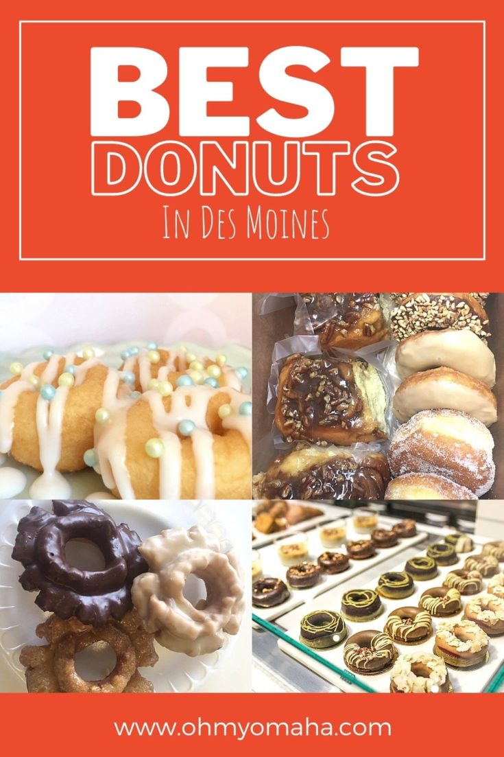 Sweet breakfast or anytime treat, here's where to find the best donuts in Des Moines, Iowa!
