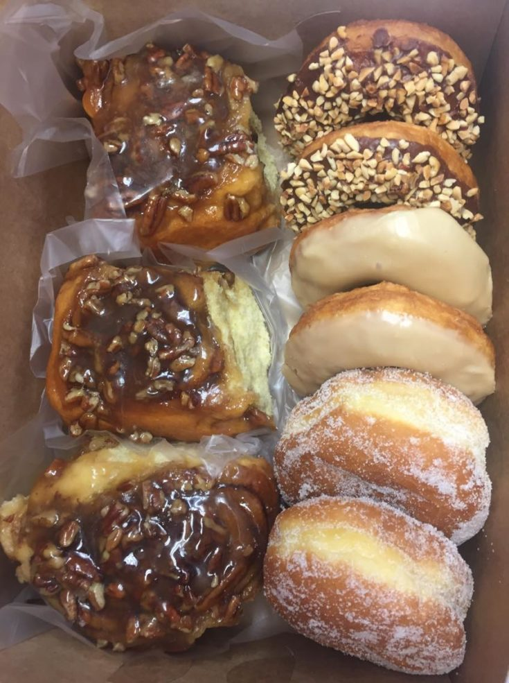 Long-time Des Moines donut shop, Donut Hut has a mix for traditional and filled donuts.