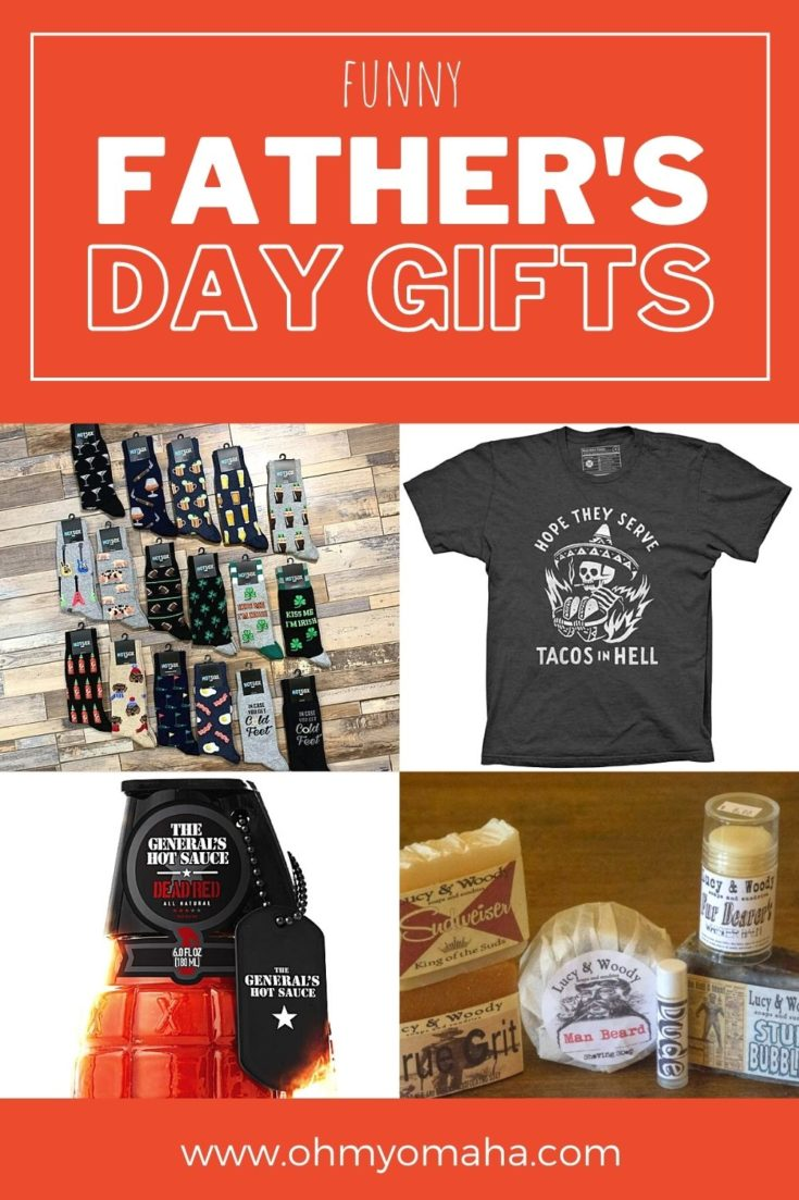 A roundup of funny gifts for Father's Day