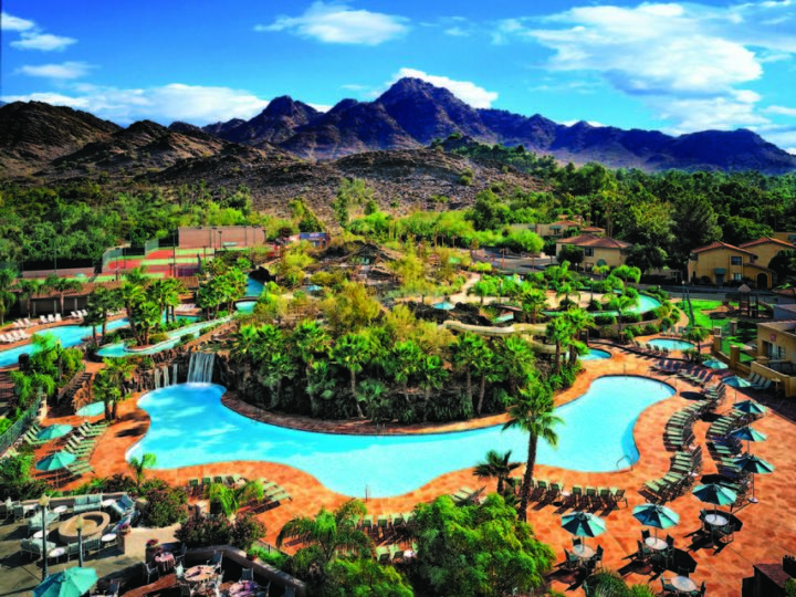 Hilton Phoenix Resort at the Peak pool