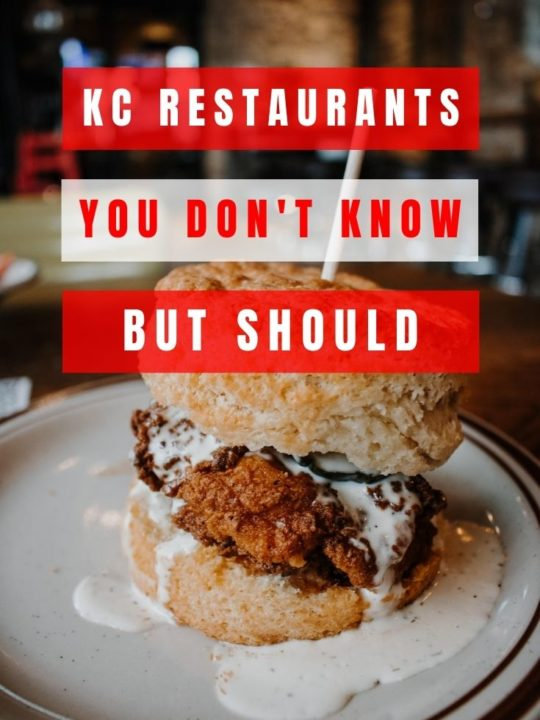 8 of the best restaurants in Kansas City that often fly under-the-radar. These are excellent choices for a night out with friends in KC or a date night!