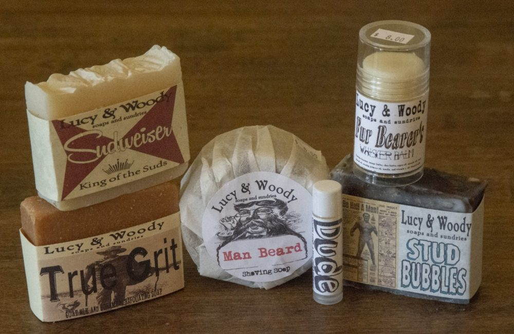 Lucy & Woody bath products