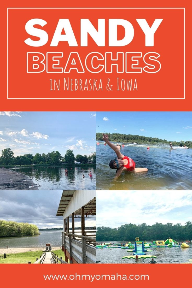 A beach vacation in Nebraska or Iowa? Yes! Here are 14 lakes with sandy beaches all within driving distance of Omaha.