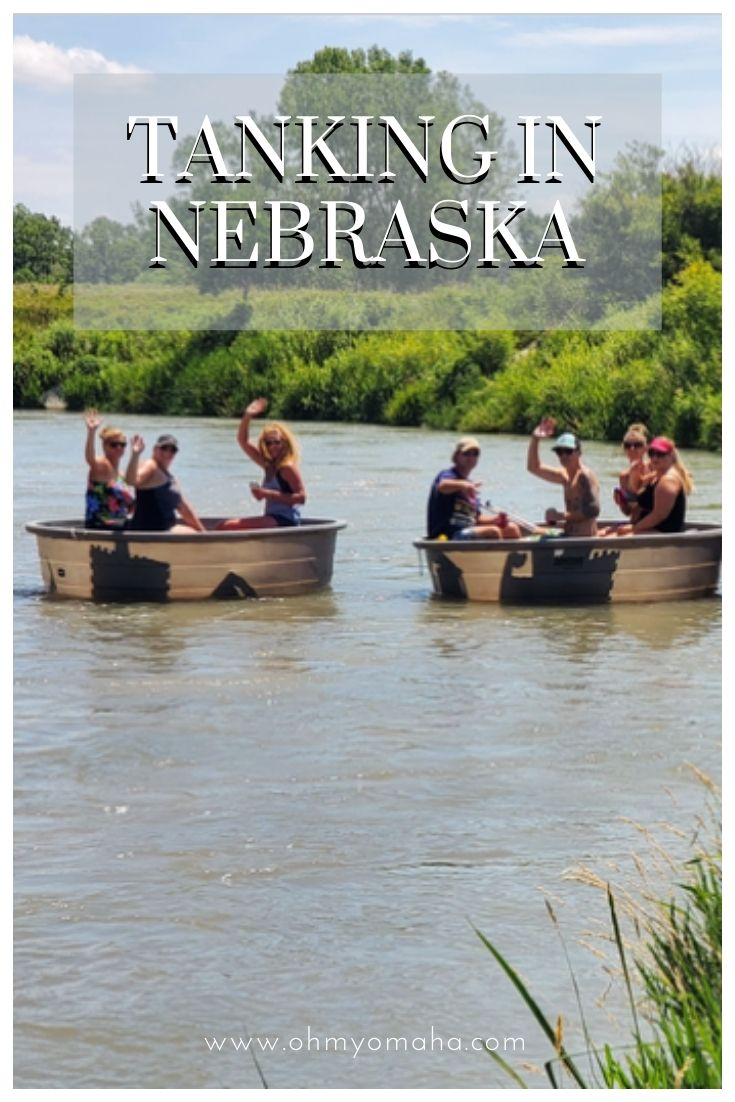 """What's """"tanking""""? Read this guide to tanking on rivers in Nebraska! Tanking is a low-key float trip for friends and families. It's a fun summer activity for groups of friends or families."""