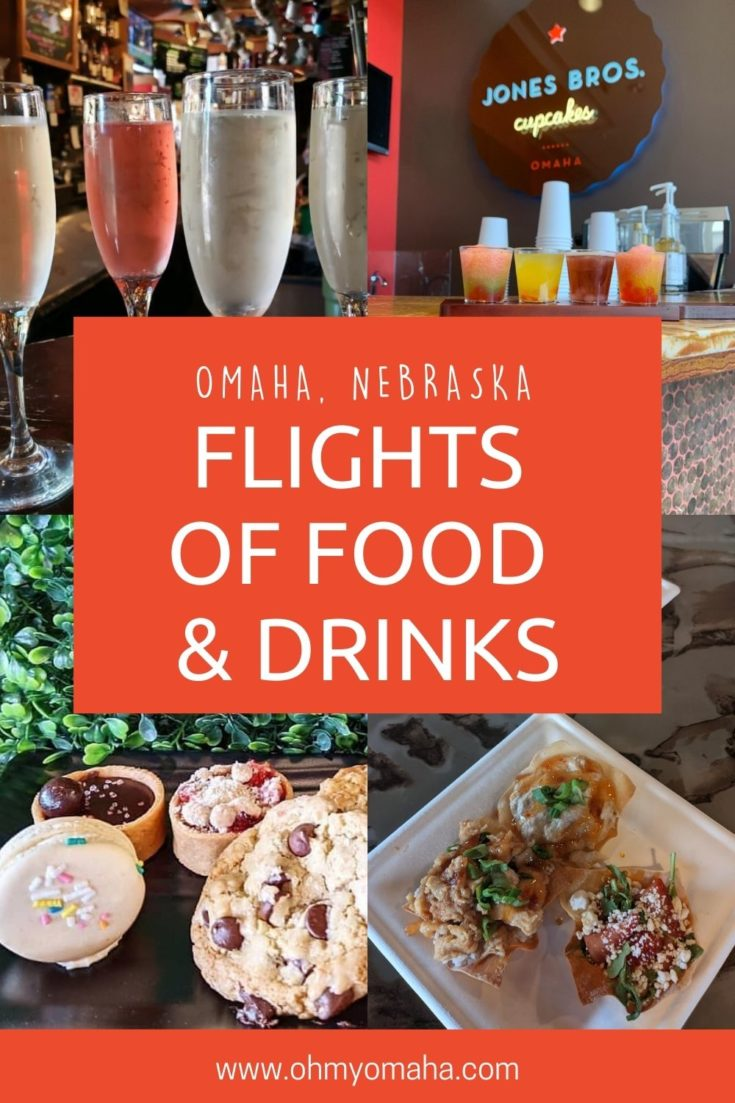A new way to explore Omaha bars, restaurants and coffee shops: Flights! Here's a list of food flights from ice cream to meatballs, and a list of drink flights from boba tea to coffee or champagne flights.